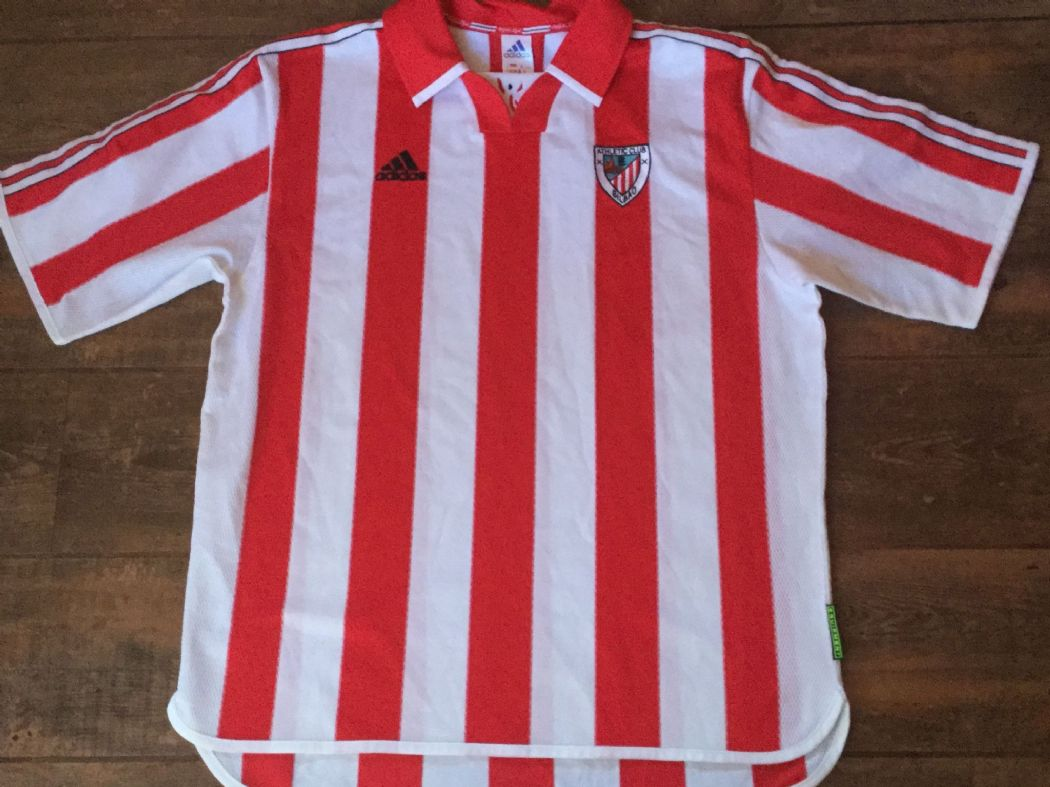 Global Classic Football Shirts | 1999 Athletic Bilbao Vintage Retro Old Soccer Jerseys